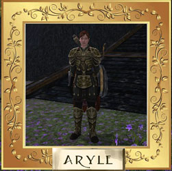Aryle, Shield Bearer of October 2014